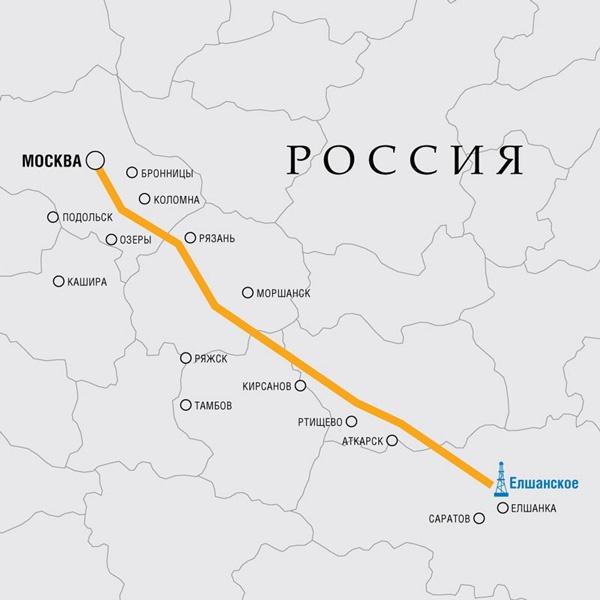 Для поставок в Москву с 1944